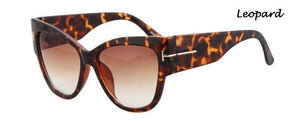 Del Sol Luxury Cat Eye Sunglasses-Sunglasses-Look Love Lust