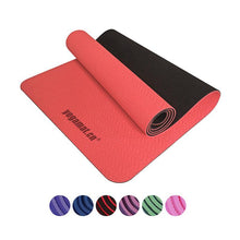 Load image into Gallery viewer, TPE Yoga Mats with Carrying Bag and Resistance band-Fitness Tools-Look Love Lust
