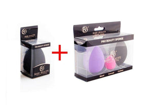 Combo 4 Pcs Beauty Makeup Sponge Blender Flawless Latex Free Foundation Puff-Makeup Blenders-Look Love Lust