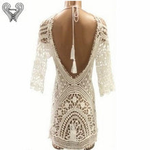 Load image into Gallery viewer, Lace Beach Cover Up Sarong-Cover-Ups-Look Love Lust