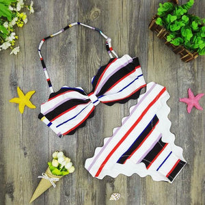 Cute Scalloped Swimwear-Bikinis Set-Look Love Lust