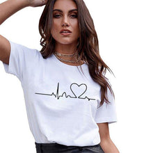 Load image into Gallery viewer, Graphic Print Vogue T Shirts-T-Shirts-Look Love Lust