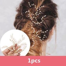 Load image into Gallery viewer, Fashion Hairpins Faux Pearl Hair Clip Pins-Hair Care-Look Love Lust