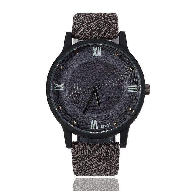 Melvin Stainless Steel Wristwatch-Look Love Lust