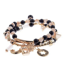 Load image into Gallery viewer, Amanda Charms Beads Bracelet-Charm Bracelets-Look Love Lust
