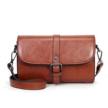 Load image into Gallery viewer, PU Leather Vintage Shoulder Bag-Look Love Lust