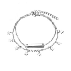 Multi Layer Summer Anklet-Anklets-Look Love Lust