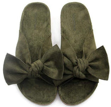 Load image into Gallery viewer, Rebecca Velvet Bow Knot Sandals-Slippers-Look Love Lust
