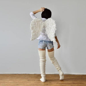 Knitted High Socks press-Stockings-Look Love Lust