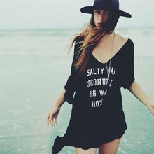 Load image into Gallery viewer, Salty Hair Beach Blouse-Cover-Ups-Look Love Lust
