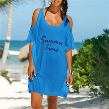 Load image into Gallery viewer, Summer Time Cut-Out Sleeve Cover Up-Cover-Ups-Look Love Lust