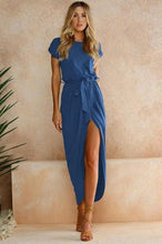 Load image into Gallery viewer, Dina Wrap Dress-Dresses-Look Love Lust