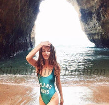 Load image into Gallery viewer, ISLAND VIBES Swimsuit-Look Love Lust