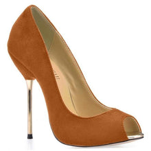 Load image into Gallery viewer, Party Peep Toe Stiletto-Women's Pumps-Look Love Lust