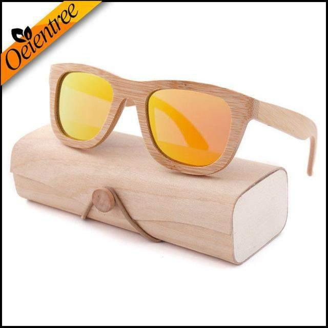 Polarized Wooden Glasses-Sunglasses-Look Love Lust