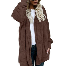 Load image into Gallery viewer, Faux Fur Teddy Bear Fashion Jacket-Jacket-Look Love Lust