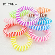 Load image into Gallery viewer, 10 Piece Plastic Elastic Hair Bands-Hair Accessories-Look Love Lust