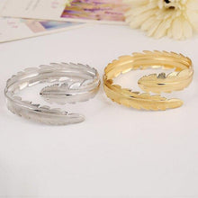 Load image into Gallery viewer, Leaf Bangles Women-Bangles-Look Love Lust