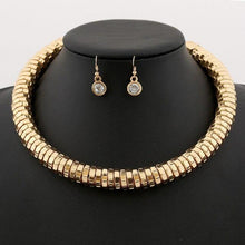 Load image into Gallery viewer, Maxi Choker Necklaces Earring set-Jewelry Sets-Look Love Lust