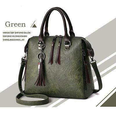 Large Capacity Casual Leather Crossbody Bags for Women-Shoulder Bags-Look Love Lust