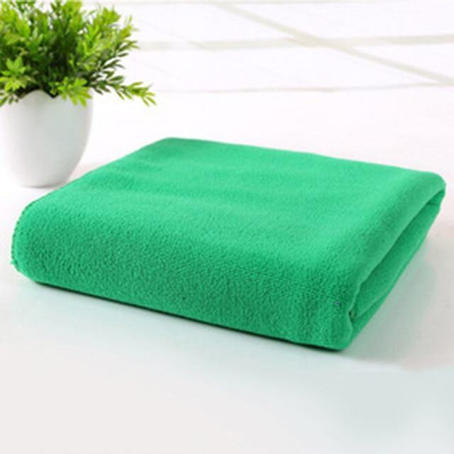 Multiple Colors - High Quality Quick Drying Microfiber Towels for Curly Hair Method
