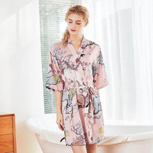 Load image into Gallery viewer, 4PCS Bride Bridesmaid Sleepwear-Robes-Look Love Lust