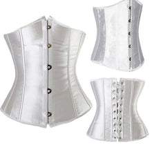"Load image into Gallery viewer, ""Juliette"" Underbust Waist Cincher Corset-Waist Cinchers-Look Love Lust"