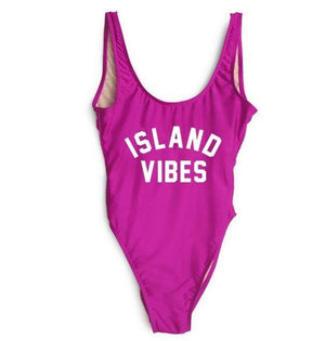 ISLAND VIBE One Piece Swimsuit-Look Love Lust