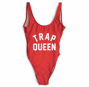 Trap Queen One Piece Swimsuit-Look Love Lust
