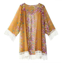 Load image into Gallery viewer, Vintage Chiffon Kimono-Blouses-Look Love Lust