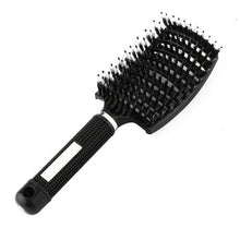 Load image into Gallery viewer, Scalp Massaging Nylon Bristle Hairbrush for Wet, Curly Hair Detangling-Hair Care-Look Love Lust