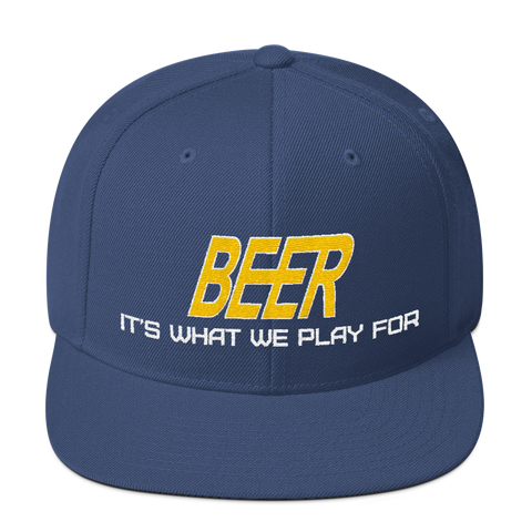 Beer - It's what we play for