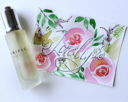 3RIFIC premium face oil reviewed by miss singapore Jody Liu