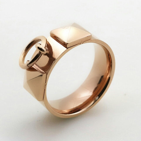 Lana Rose Gold Ring