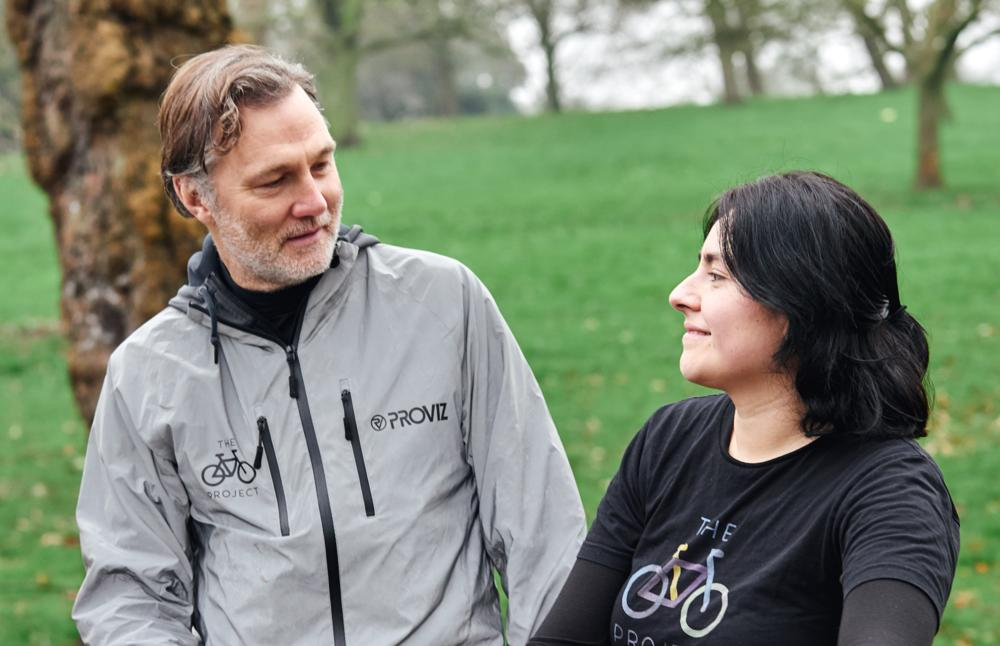 David Morrissey and Cielo The Bike Project