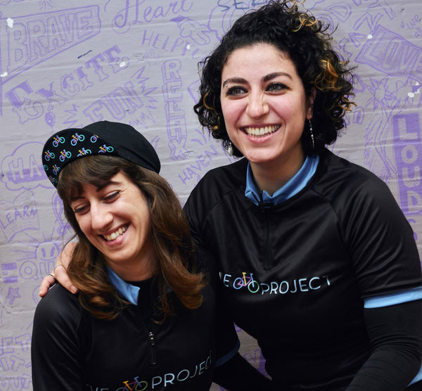 Marta and Nour, The Bike Project Staff