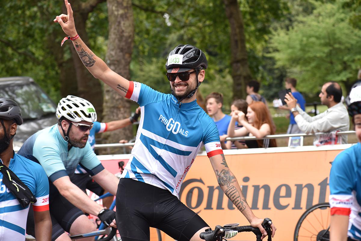V for Victory RideLondon