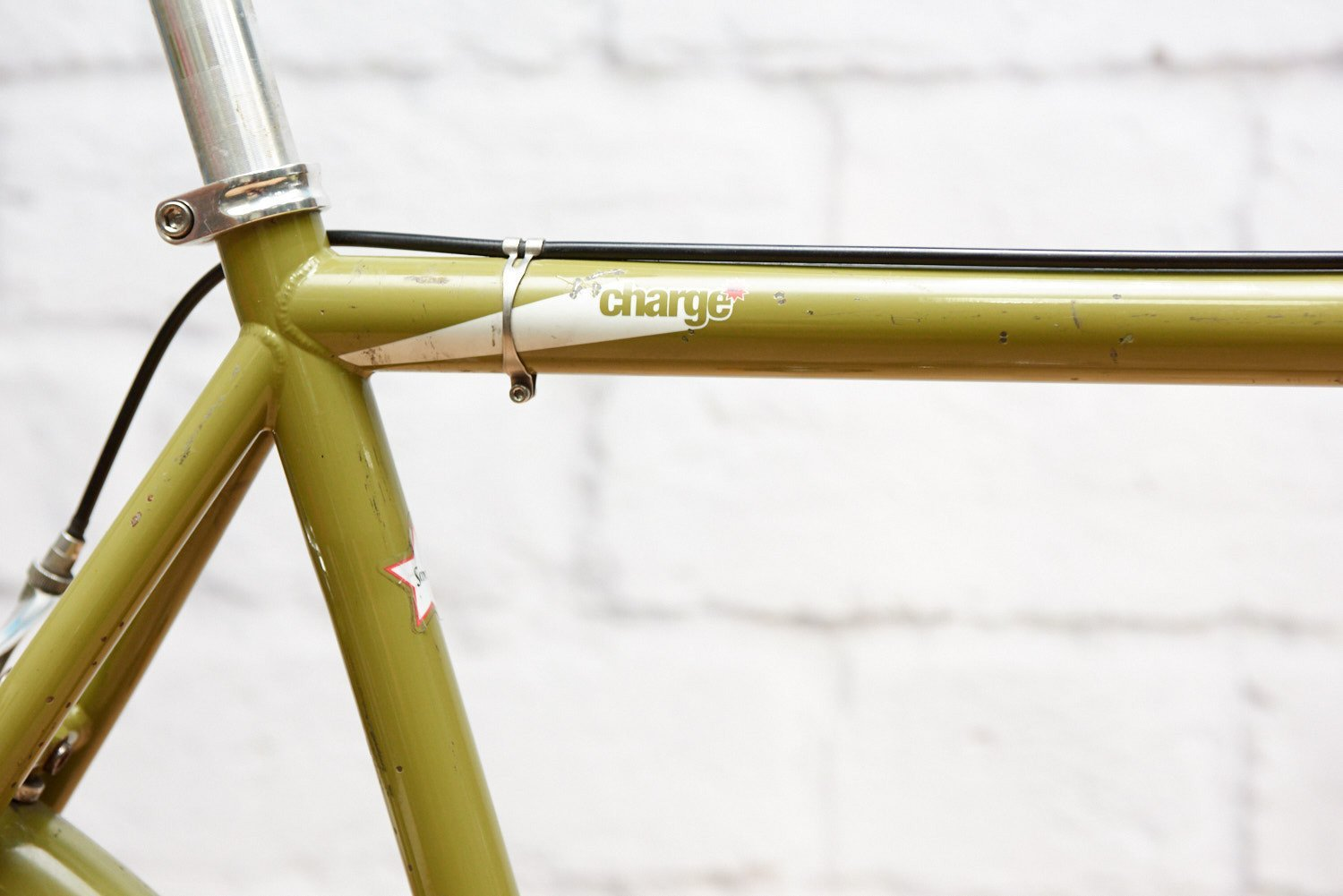 Charge Plug Grinder Single Speed Bike (58cm frame)