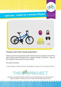 1 Bike for a Young Refugee