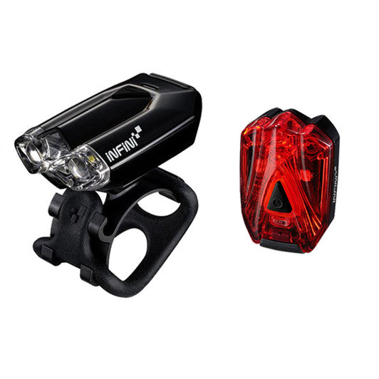 Infini Lava USB Front and Rear Light Set