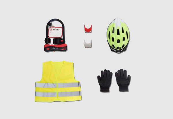 Refugee Cycling Safety Kit