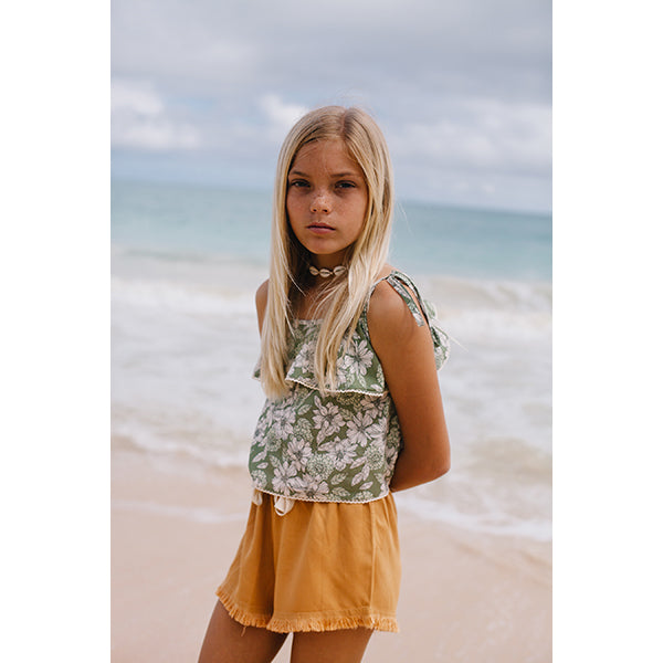 Island State Co_Uluwatu Shorts - Earth Caramel - The Child Hood
