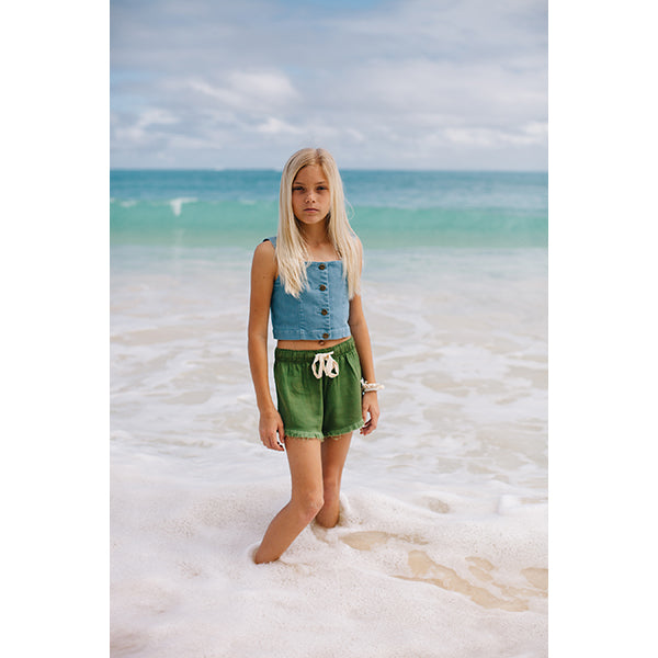 Island State Co_California Crop Top - The Child Hood