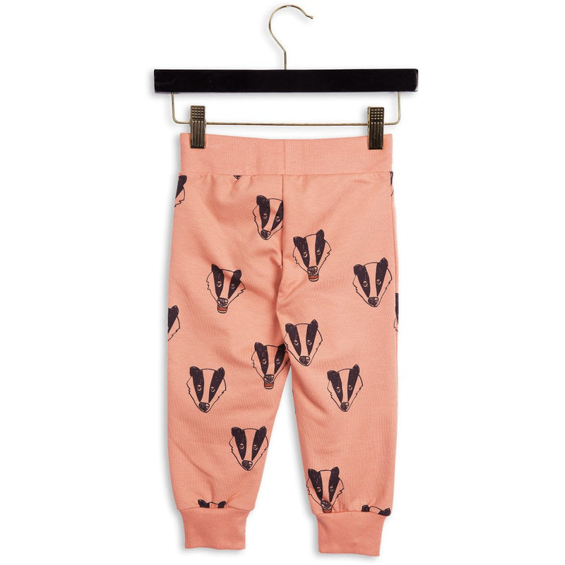 Mini Rodini_Badger Sweatpants Pink - The Child Hood