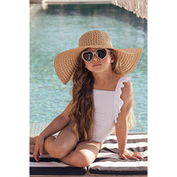 Dot Dot Swim_One Piece Frill - Silver Lining - The Child Hood