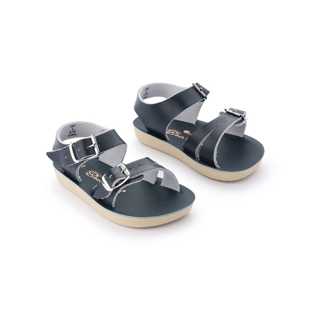 Salt Water Sandals_Sun-San Sea Wee - Navy - The Child Hood