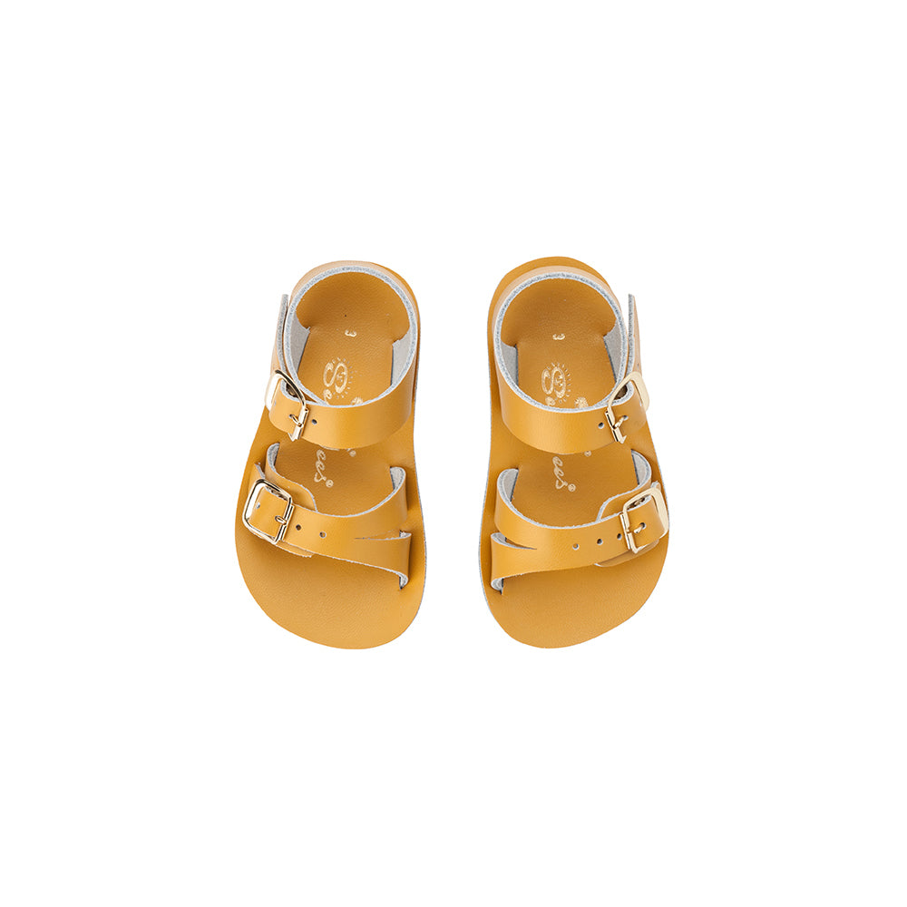 Salt Water Sandals_Sun-San Sea Wee - Mustard - The Child Hood