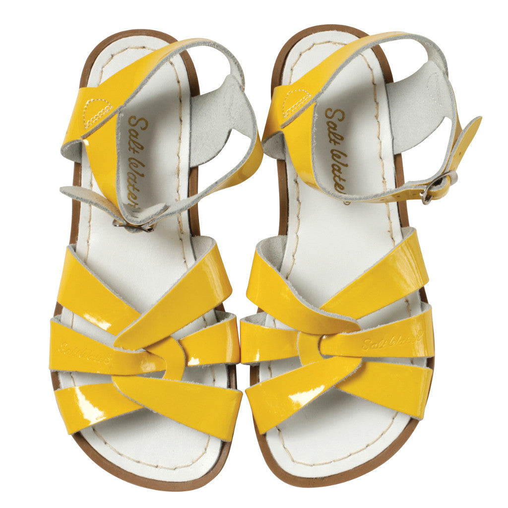 Salt Water Sandals - Yellow