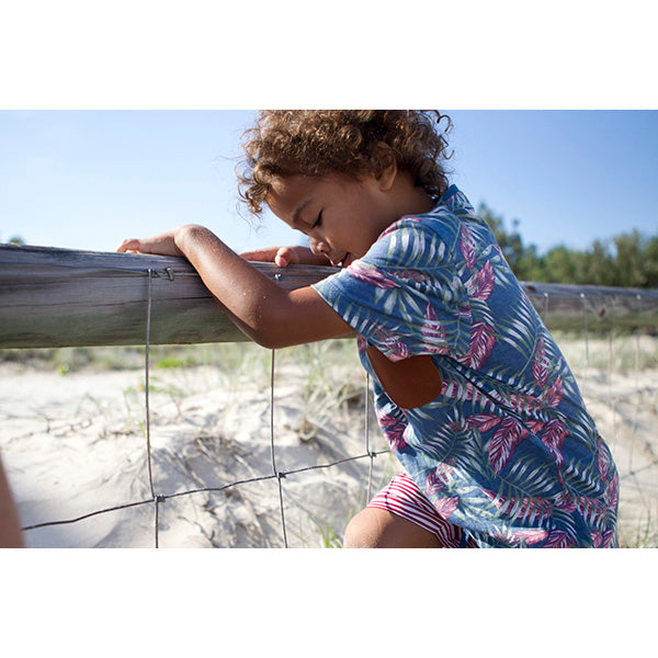 Raised by the Desert_Samuel T-Shirt - Straddie Print - The Child Hood