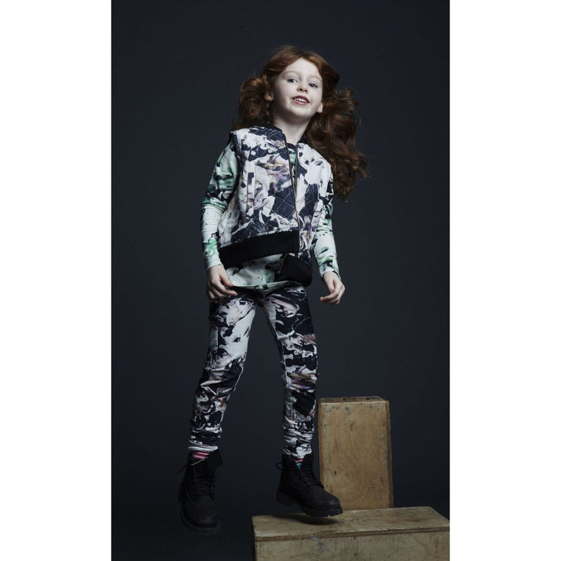 Agatha Cub_Leggings Fungi Lila - The Child Hood